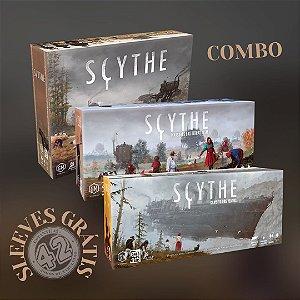 Combo Scythe + Expansões + Sleeves Grátis