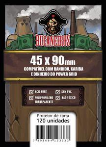 Sleeve Customizado - Bandido / Kariba / Dinheiro do Power Grid / Futuropia (45 x 90) - Bucaneiros