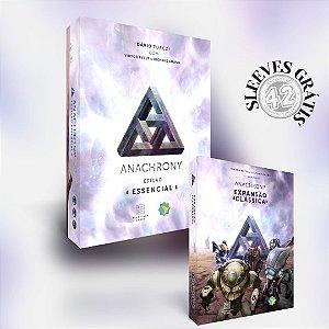Anachrony + Expansão Clássica (PRÉ-VENDA) - Sleeves Grátis