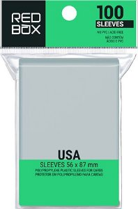 SLEEVE REDBOX PADRÃO USA (56X87MM)