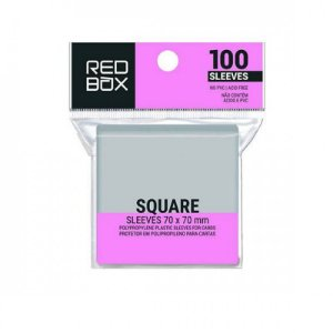 SLEEVE REDBOX SQUARE - QUADRADO (70X70MM)