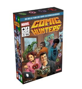 Comic Hunters + Sleeves (PRÉ-VENDA)