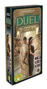 7 Wonders Duel: Ágora + Sleeves
