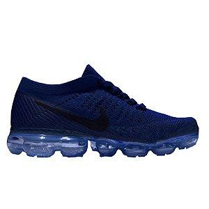 Tênis Nike Air Max VaporMax Flyknit - Azul Marinho