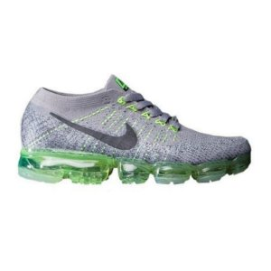 Tênis Nike Air Max VaporMax Flyknit - Cinza e Verde