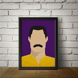 Freddie Mercury - Queen - Minimalista