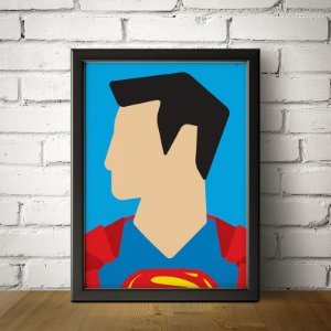 Super Homem - Minimalista