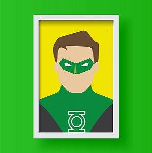 Lanterna Verde - Minimalista