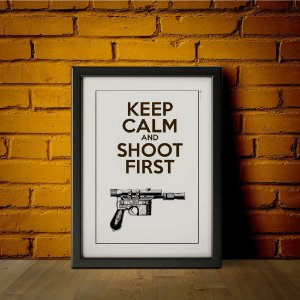 Shoot First - Star Wars