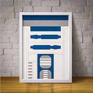 R2D2 - Star Wars - Minimalista