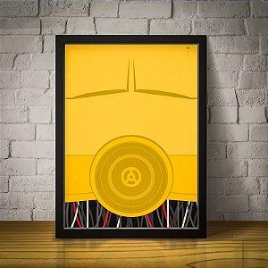 C3PO - Star Wars - Minimalista