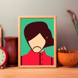 George - Beatles - Minimalista