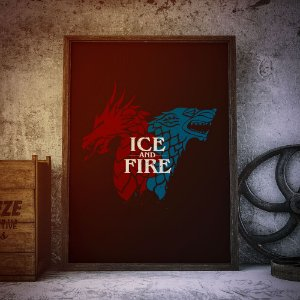 Ice and Fire - Game of thrones