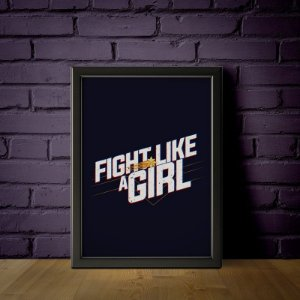 Fight Like a Girl - Capitã Marvel