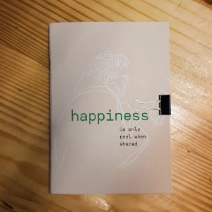 Caderno - Into the Wild (Happiness - Claro)