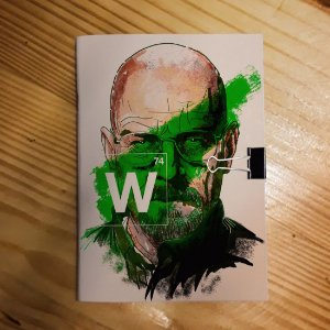 Caderno - Breaking Bad (Wilter White)