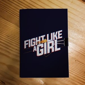 Caderno - Capitã Marvel (Fight Like a Girl)