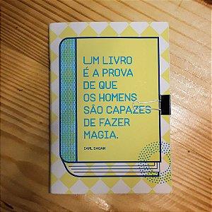Caderno - Carl Sagan (Livros)