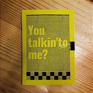 Caderno - Taxi Driver (Frase)