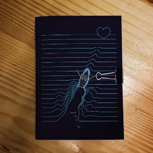 Caderno - Los Hermanos (Dois Barcos)
