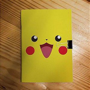 Caderno - Pikachu (Pokémon)
