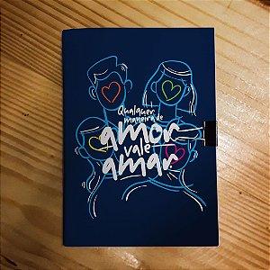 Caderno - Qualquer Forma de Amor (Milton Nascimento)