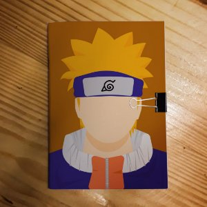 Caderno - Naruto Uzumaki (Minimalista)