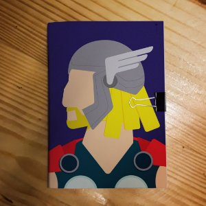 Caderno - Thor (Minimalista)