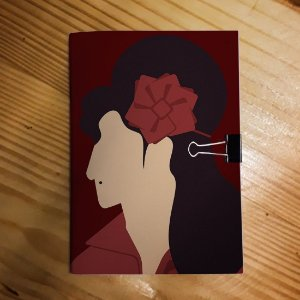 Caderno - Amy Winehouse (Minimalista)