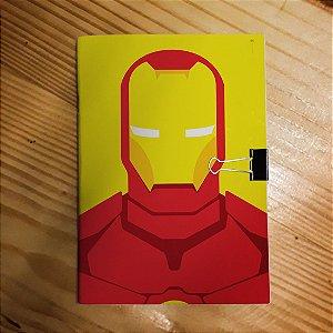Caderno - Iron Man (Minimalista)