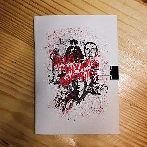 Caderno - Malvados