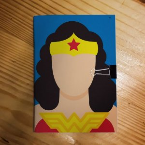 Caderno - Wonder Woman (Minimalista)