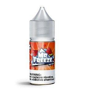 Juice Mr Freeze SALT Nicotine Watermelon Frost 50mg 30ml (Uso Somente em POD'S)