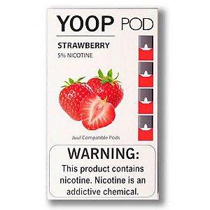 YOOP Pod Strawberry 5mg (Compatível C/ JUUL)