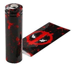 WRAP P/ Bateria -  DEADPOOL