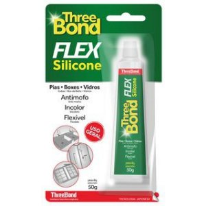 Silicone Incolor Antimofo Bond Flex 50grs
