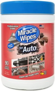 Toalha para Limpeza Pesada Miracle Wipes - Baldinho com 90 toalhas
