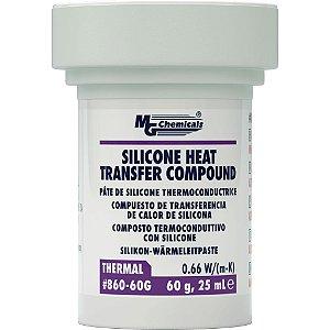 Graxa Dissipadora de Calor de Silicone - 60grs
