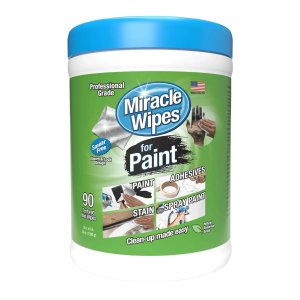 Toalha para Limpeza de Tinta Miracle Wipes - Baldinho com 90 toalhas