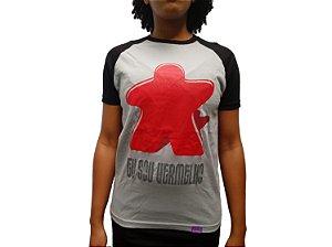 Camiseta Eu Sou Vermelho