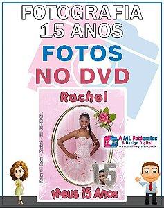 Fotografia de 15 Anos - Fotos em DVD