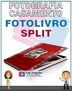 Fotografia de Casamento - Fotolivro Split