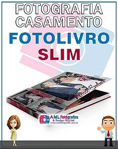 Fotografia de Casamento - Fotolivro Slim