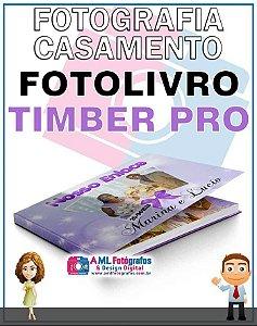 Fotografia de Casamento - Fotolivro Timber Pro