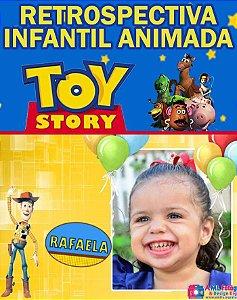 Retrospectiva Toy Story Menina