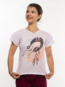 Camiseta babado - Bailarina