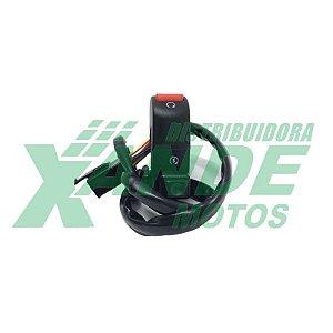 CHAVE INTERRUP. DE PARTIDA E EMERGENCIA NXR BROS 150 ESD 2006-2008 SMART FOX