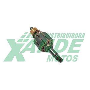 INDUZIDO MOTOR DE PARTIDA TITAN 150/NXR BROS 150 2006-08/FAN 125 2009-13 SMART