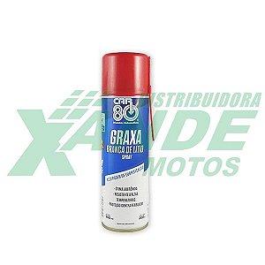 SPRAY GRAXA BRANCA DE LITIO PARA CORRENTE   CAR 80   300 ML