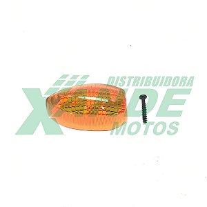 LENTE PISCA FAZER 250 / XTZ 250 AMARELA GVS